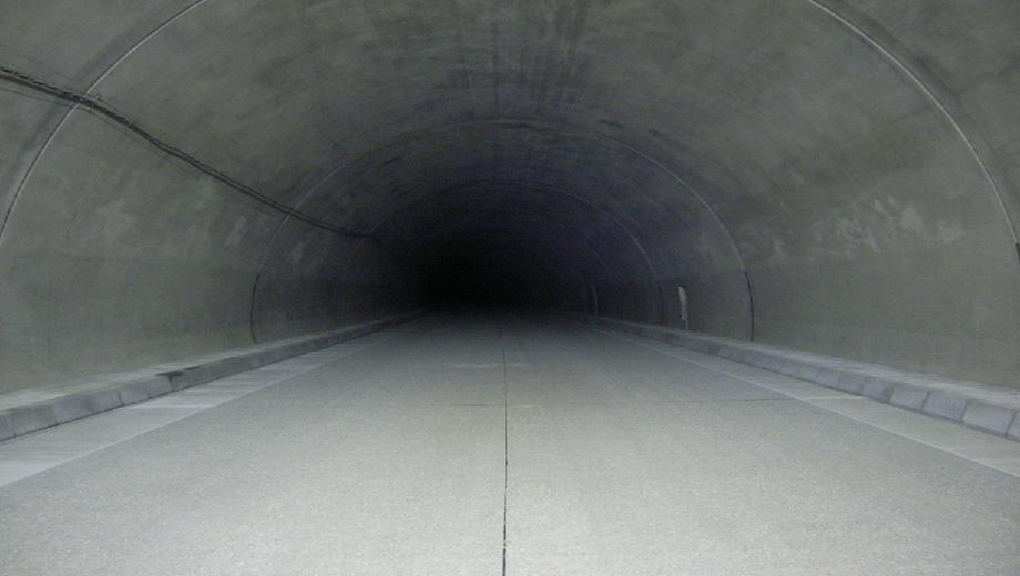 >北海道横断自動車道 浦幌町 炭山トンネル舗装工事<高規格道路舗装工事>